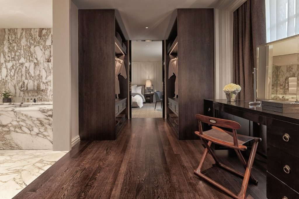, Hotel Suite Designed To Create Luxurious Residential Feel