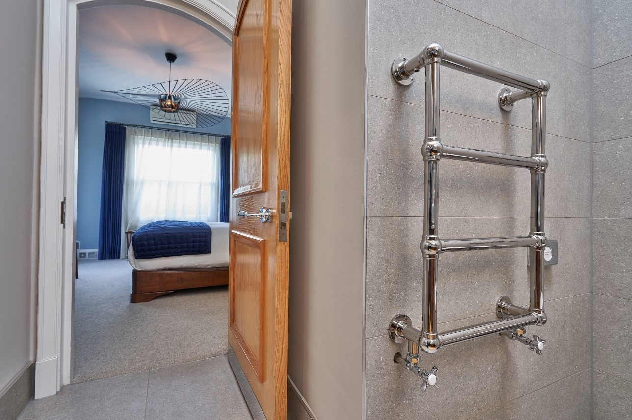heating designs guestrooms, Bisque serves up stylish heating solutions at The Waterside Inn