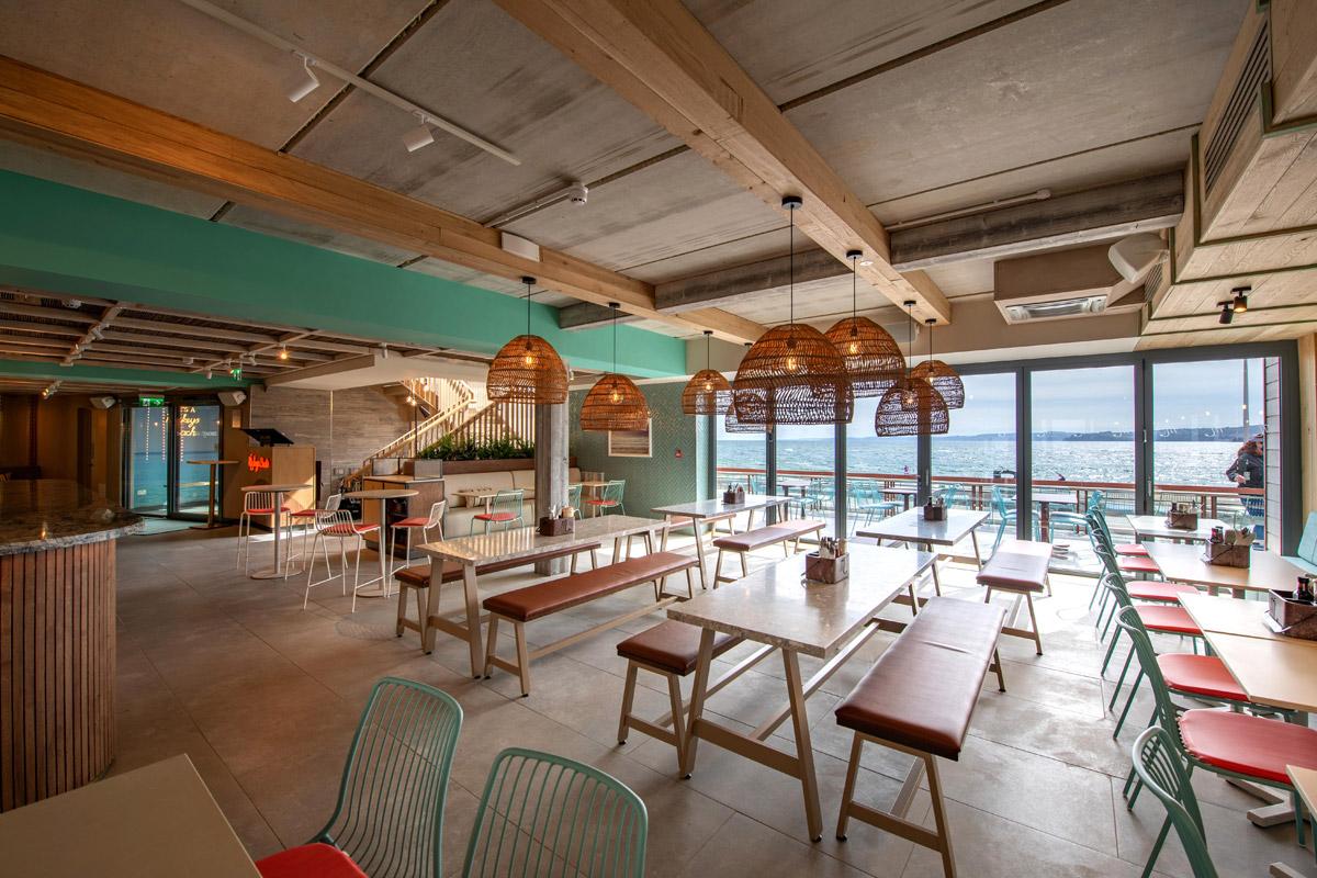 beach interior design coast, Mickeys Beach Bar Brings a Sense of Escapism to the Visitors