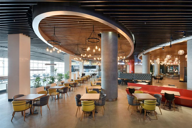 Dining Destination Inspired by Modern Urban Life & Human Connection