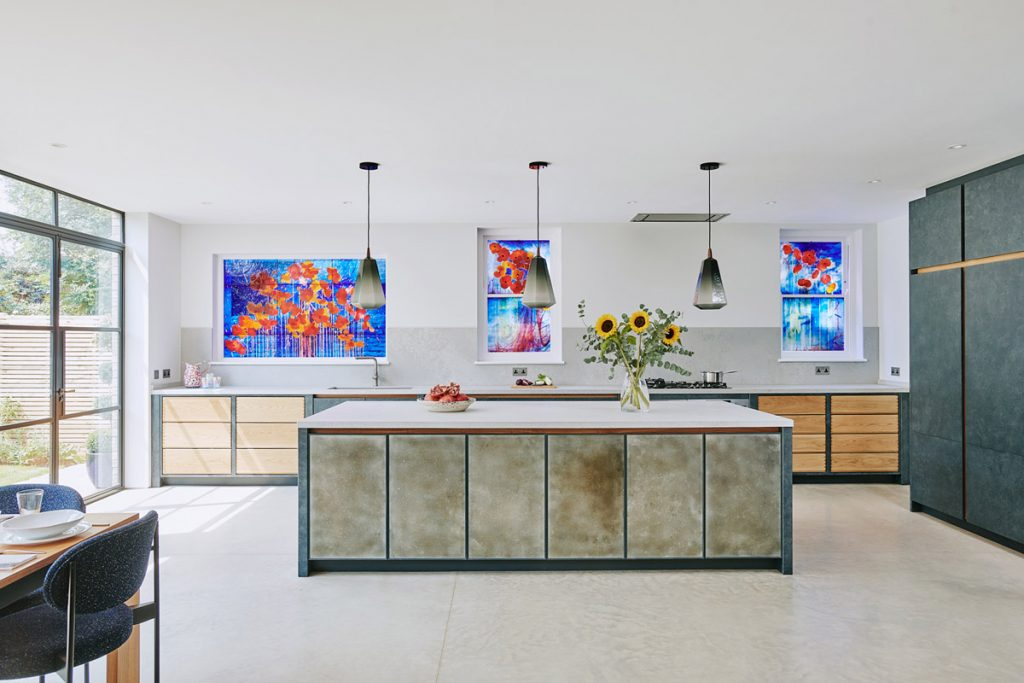 Industrial and Artisanal Styles Combine in the New Wimbledon Kitchen