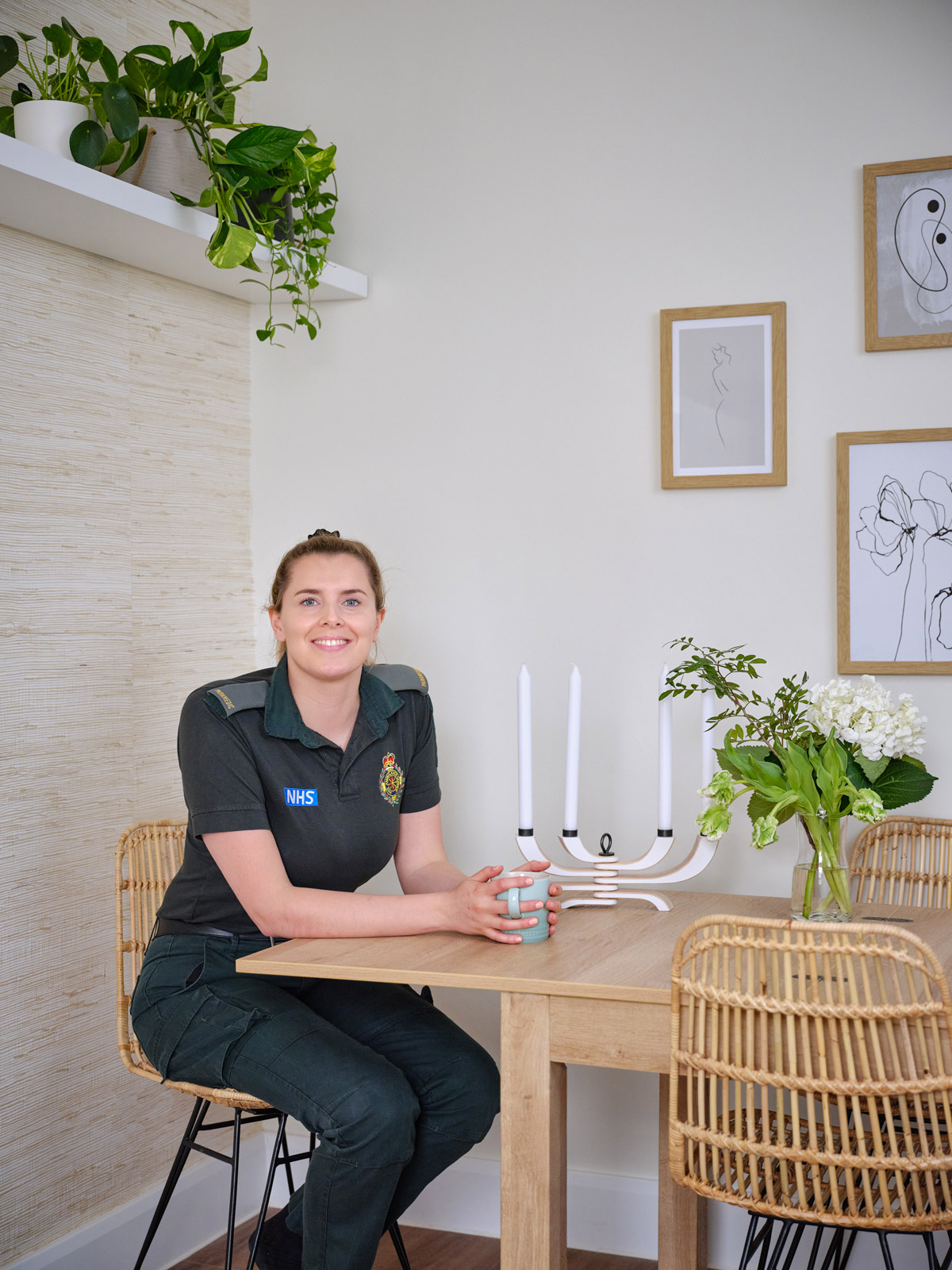 interior design nhs charity, Clare Gaskin Applies Her Talent and Experience For NHS Hero's Room Makeover