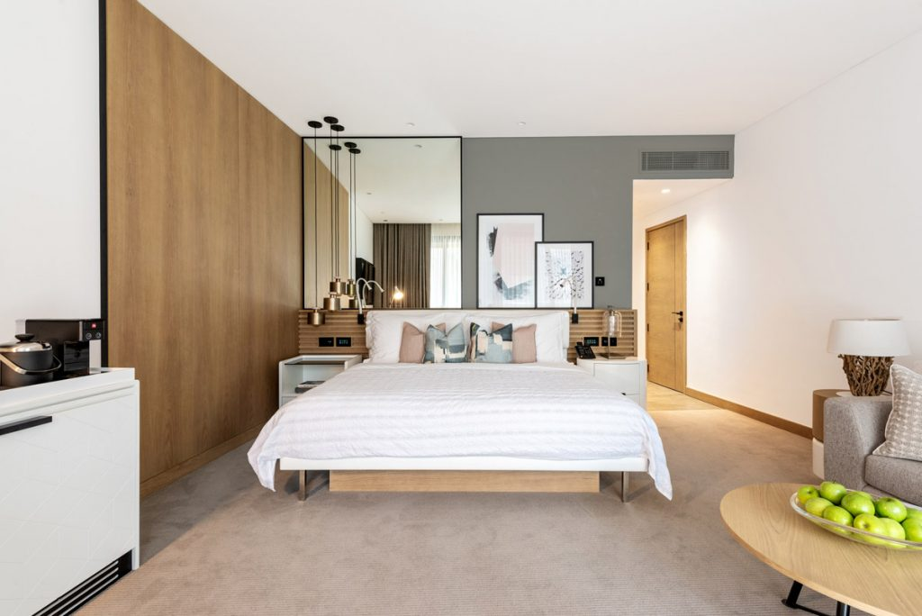 Welcoming Suites Designed at a Premium Resort to Fit the Brand